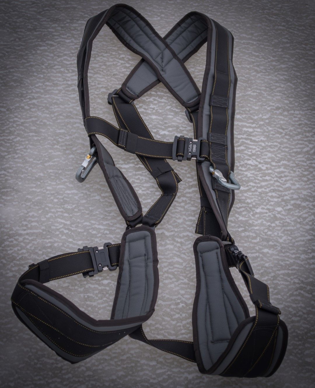 Kiting Harness For Paramotor Powered Paragliding With
